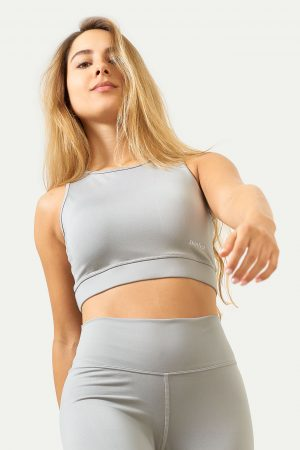 Crop Top Light Grey
