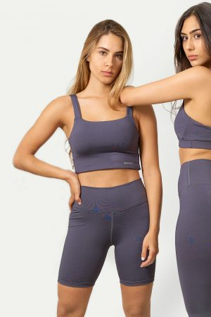Legging Corto Dark Grey